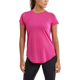Craft Charge SS Round Neck Tee Women, fame